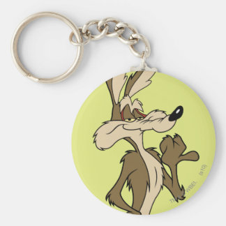 WILE E. COYOTE™ Looking Proud Basic Round Button Keychain