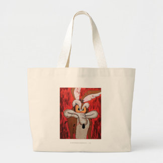 Wile E Coyote Red Fury Large Tote Bag