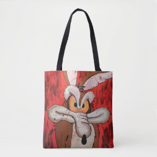 Wile E Coyote Red Fury Tote Bag