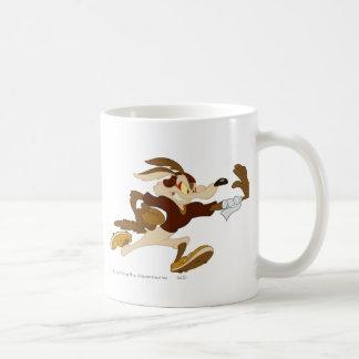 Wile E Coyote Stiff Arm B/W 2 Coffee Mug