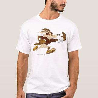 Wile E Coyote Stiff Arm B/W 2 T-Shirt