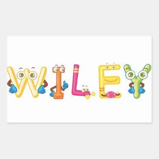 Wiley Sticker