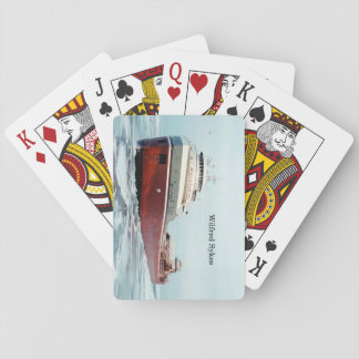 Wilfred Sykes 50 years playing cards