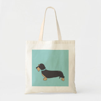 Wilfred  the Dachshund  Tote Bag