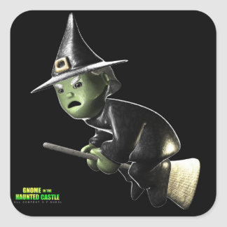 Wilga Witch Square Sticker
