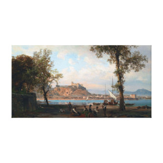 Wilhelm Alfred Metzener Angera on Lake Maggiore Canvas Print