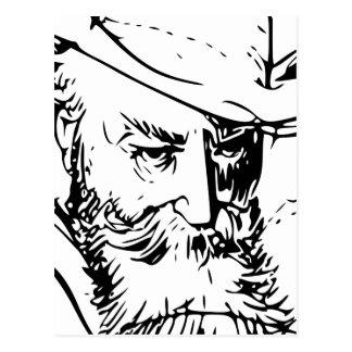 Wilhelm Busch Self Portrait Postcard