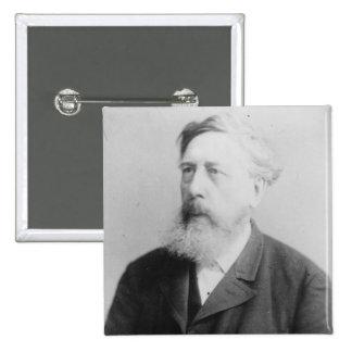 Wilhelm Liebknecht 2 Inch Square Button
