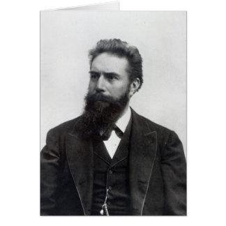 Wilhelm Rontgen Card