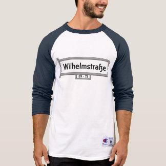 Wilhelmstrasse, Berlin Street Sign T-Shirt