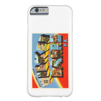 Wilkes Barre Pennsylvania PA Old Travel Souvenir Barely There iPhone 6 Case