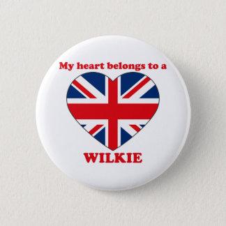 Wilkie 2 Inch Round Button