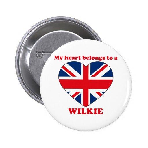 Wilkie Pinback Button