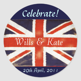 Will and Kate Royal Wedding Stickers