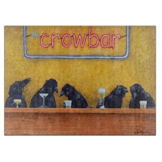 """Will Bullas cutting board """"crowbar"""""""