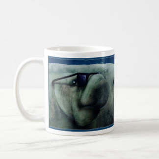 "Will Bullas mug ""manatees are cool"""