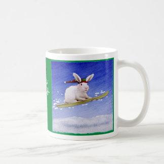 """Will Bullas mug """"snow bunny..."""