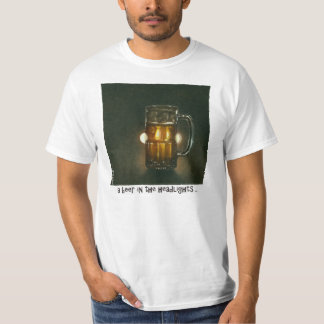 "Will Bullas tee ""a beer in the headlights"""