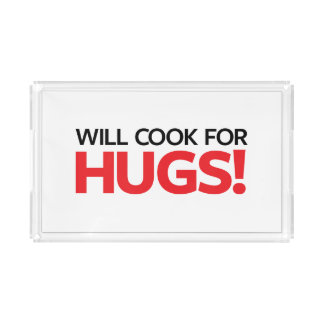Will Cook for Hugs Perfume Tray