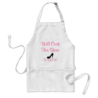 Will Cook For Shoes Apron