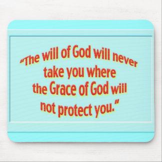 will of God sticker 1 Mouse Pad