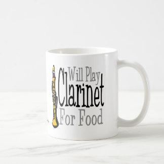 Will Play Clarinet Coffee Mug