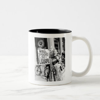 Will Pose For Lithium Two-Tone Coffee Mug