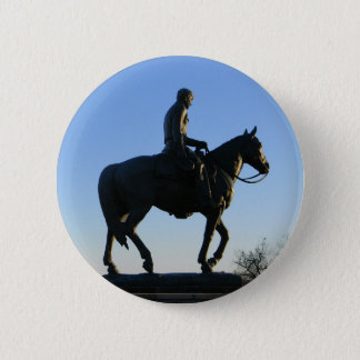 Will Rogers Into the Sunset 2 Inch Round Button