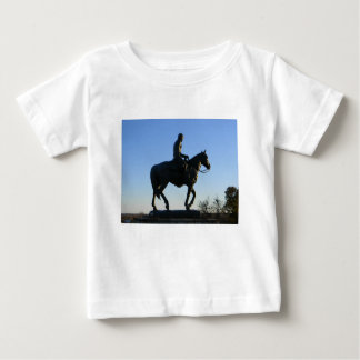 Will Rogers Into the Sunset Baby T-Shirt