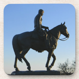 Will Rogers Into the Sunset Beverage Coasters