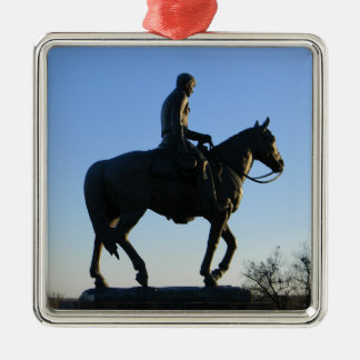 Will Rogers Into the Sunset Metal Ornament
