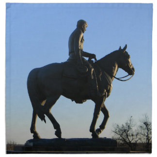 Will Rogers Into the Sunset Napkin