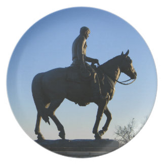 Will Rogers Into the Sunset Plate