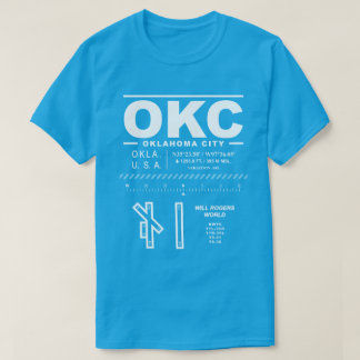 Will Rogers World Airport OKC T-Shirt