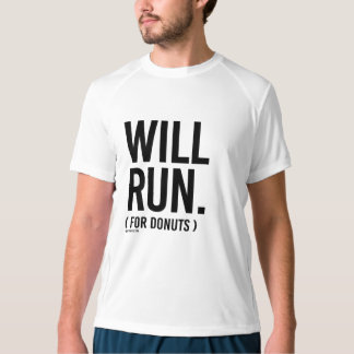 Will Run for Donuts -  .png T-shirt