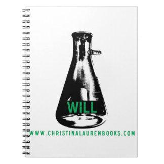 Will Spiral Notebook