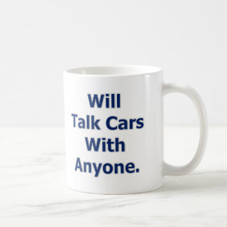 Will Talk Cars Coffee Mug