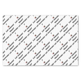 WILL THE LAST BE THE APPLE TREES? - Word games Tissue Paper