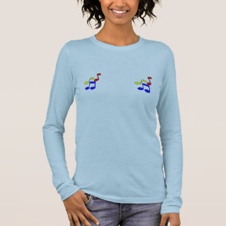 Will work for music lessons long sleeve T-Shirt