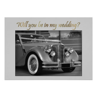 Will you be in my Wedding? Custom Invite