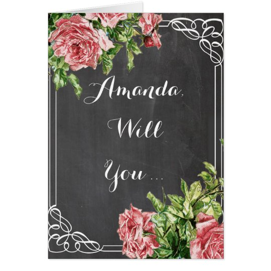 will you be my bridesmaid ? be my bridesmaid card
