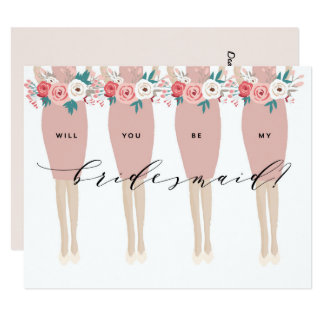 Will You Be My Bridesmaid? | Bridesmaid Card