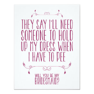 Will You Be My Bridesmaid, Card For Bridesmaid