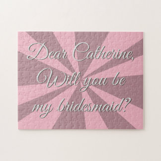 Will You Be My Bridesmaid Challenge Jigsaw Puzzle
