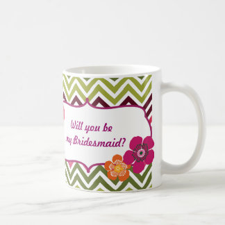 Will you be my Bridesmaid mug