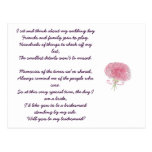 Will you be my bridesmaid? post card