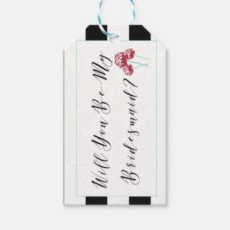 Will You Be My Bridesmaid Proposal Pack Of Gift Tags