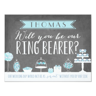 """Will You Be Our Ring Bearer 