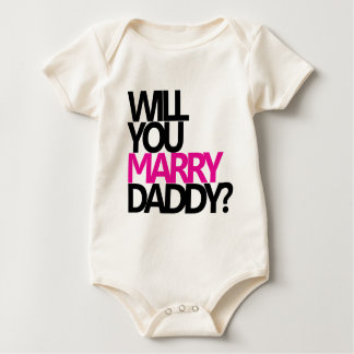 WILL YOU MARRY DADDY? ROMPER