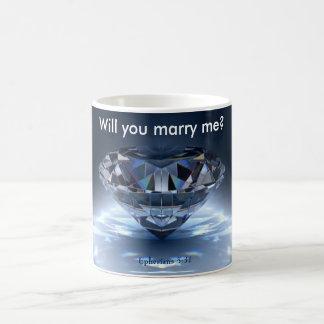 Will You Marry Me? Ephesians 5:31 Mug